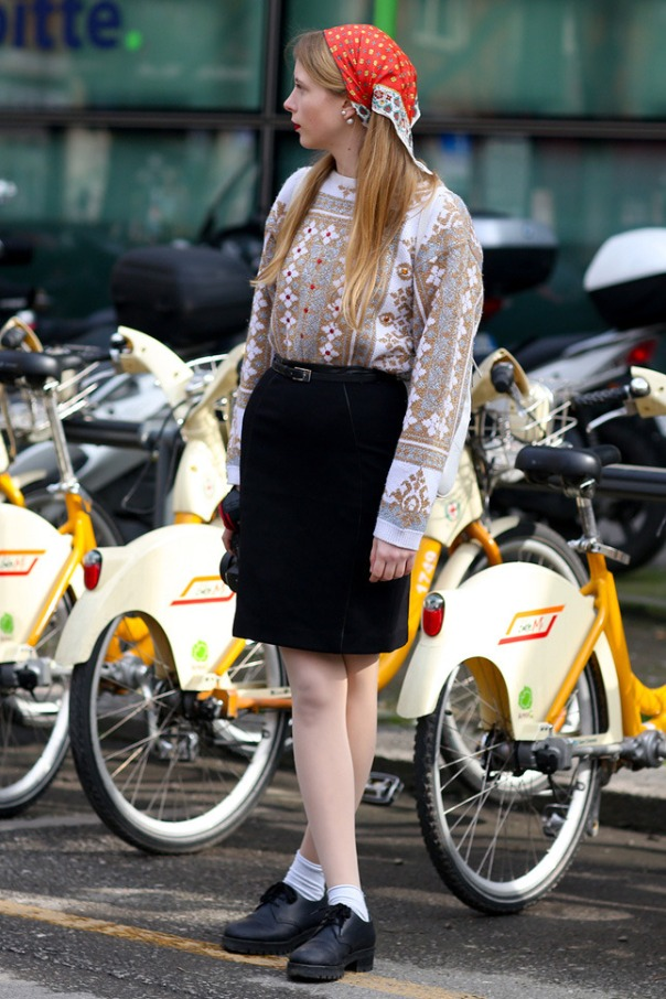 Street Style at Milan A/W 2014 Fashion Week (part 3)