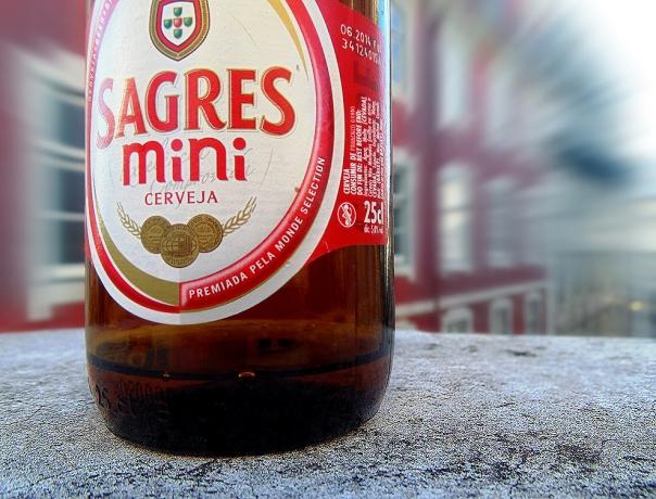BEER CERVEJA SAGRES