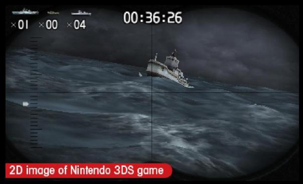 Shooting in steel diver sub wars