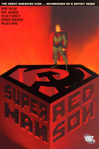 Image taken from trinitycomicshop.com via a Google images search, which brings up some good (pictures of Henry Cavill with soviet emblem photoshopped on his chest) and some not so good (middle-aged men in RedSon costumes...just don't people).